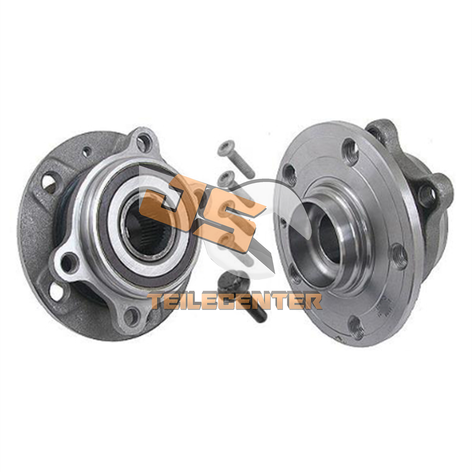 1 x Radlagersatz mit ABS-Sensorring f/ür vorne//f/ür die Vorderachse 1 x Radlager